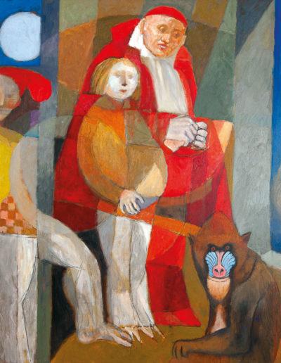 Senza Titolo | 2006 - olio su tela - 100x100 cm