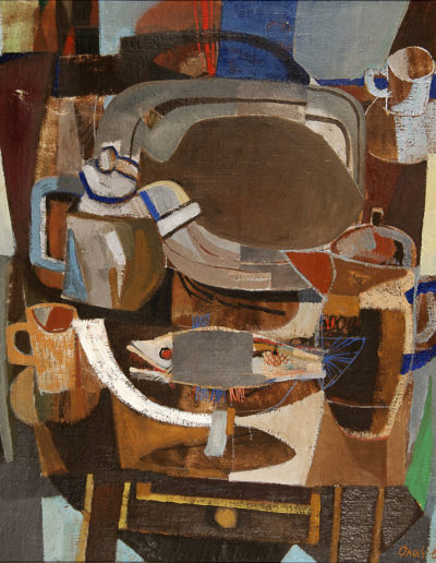 Senza Titolo | 1974 - olio su tela - 65x55 cm