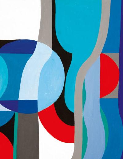 Senza Titolo | 1991 - acrilico su tela - 80x100 cm