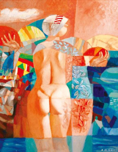 Senza Titolo | 2005 - olio su tela - 100x80 cm