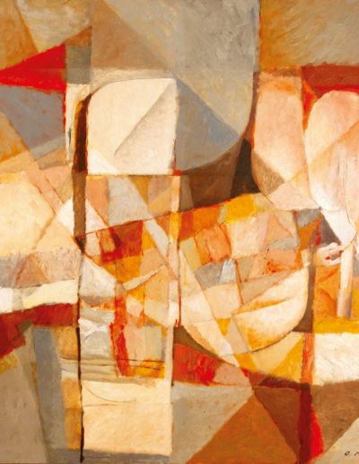 Senza Titolo | 2009 - olio su tela - 120x120 cm