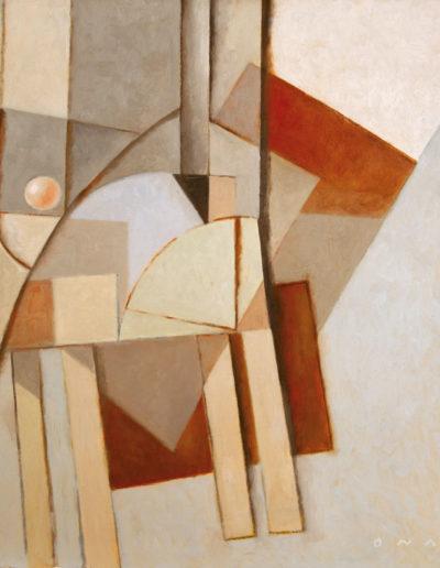 Senza Titolo | 2008 - olio su tela - 60x60 cm