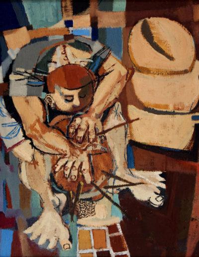 Senza Titolo | 1958 - olio su tela - 65x55 cm