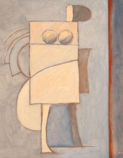 Senza Titolo | 2001 - olio su tela - 60x60 cm
