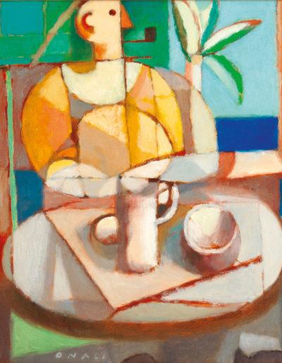 Senza Titolo | 2006 - olio su tela - 50x50 cm