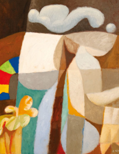 Senza Titolo | 1993 - olio su tela - 80x80 cm