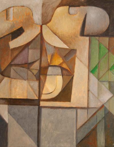Senza Titolo | 1991 - olio su tela - 100x100 cm