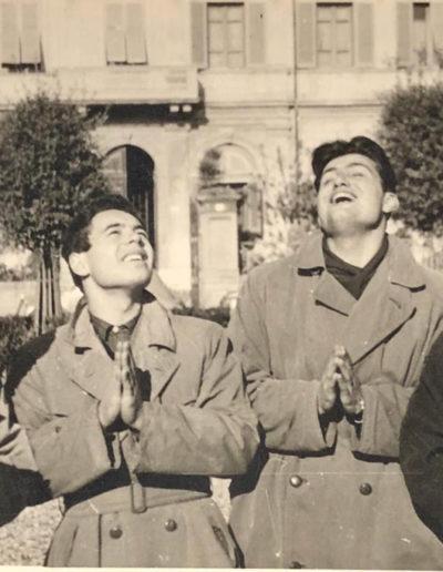 Franco Onali, Beppe Forzoni, Gianni Boncompagni e Giorgio Venturini, 1953