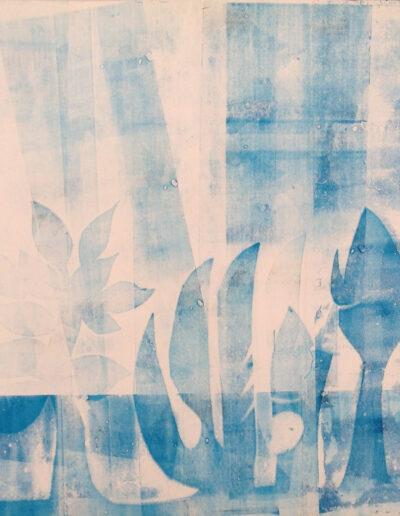 Franco Onali - S.T. - Inchiostro Tipografico su carta - cm 70x70 -1984