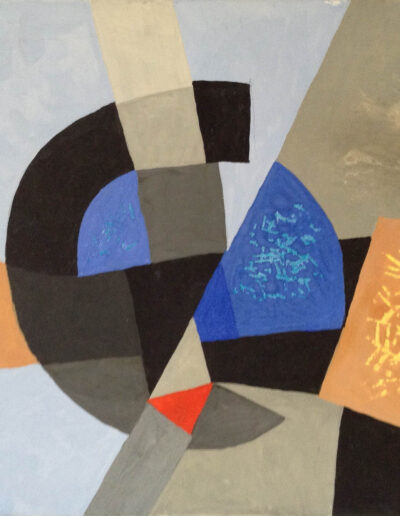 Franco Onali - S.T. - Tempera su carta - cm 36x29 - 1985