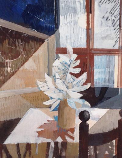 Franco Onali - S.T. - Tempera su carta - cm 50x70 - 1980